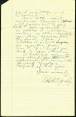 Bobby (Robert T) Jones Signed 3 Page Hand Written 1963 Letter PSA/DNA #Z05381