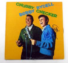 Bobby Rydell Signed LP Record Album Chubby Checker/Bobby Rydell w/ AUTO