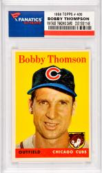 Bobby Thompson Chicago Cubs 1958 Topps #430 Card
