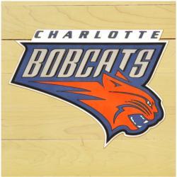 "NBA Charlotte Bobcats 12""x12"" Logo Floor Piece"