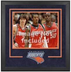 "Charlotte Bobcats Deluxe 16"" x 20"" Frame -"