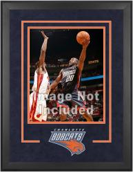 "Charlotte Bobcats Deluxe 16"" x 20"" Frame"