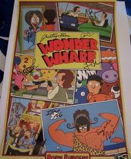 Bob's Burgers cast signed auto 2013 Comic-Con poster Merman Mintz Roberts Schaal