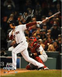 "Xander Bogaerts Boston Red Sox 2013 World Series Champions Autographed 16"" x 20"" Action Photograph"