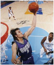 "Milwaukee Bucks Andrew Bogut Autographed 16"" x 20"" Photo -"