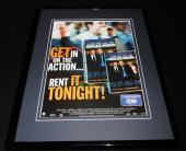 Boiler Room 2000 Vin Diesel Giovanni Ribisi 11x14 Framed ORIGINAL Advertisement