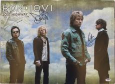 Bon Jovi Signed Autographed Lost Highway Concert Program PSA/DNA #Z07013