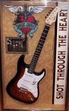Bon Jovi  Autographed Guitar