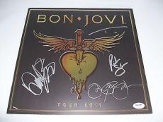 BON JOVI signed autographed 2011 TOUR PROGRAM BOOK PSA/DNA LOA! JON BON JOVI