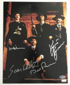 Tombstone CAST Signed 11x14 Photo By 4 Val Kilmer Kurt Russell Sam Elliott BAS