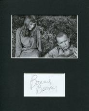 Bonnie Beecher The Twilight Zone Mary Rachel Signed Autograph Photo Display