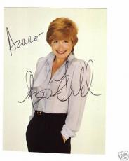 Bonnie Franklin-signed photo-Post Card