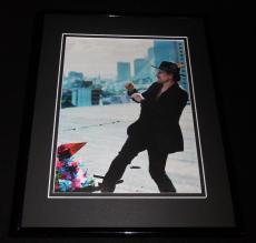 Bono 2017 U2 Framed 11x14 Photo Display
