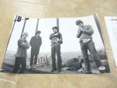 BONO & EDGE U2 Sexy Signed Autographed 12x18 Photo PSA Certified