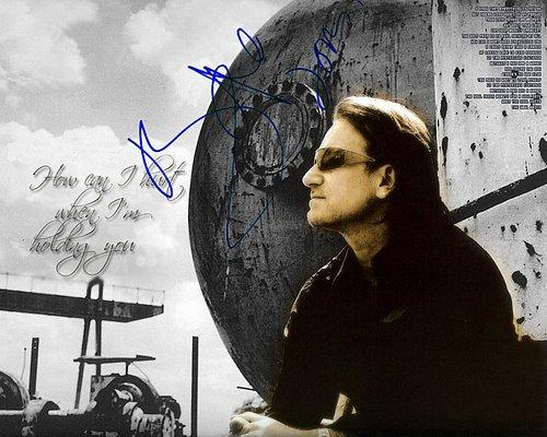 bono Facsimile Signature   Photo
