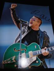 BONO SIGNED AUTOGRAPH 11x14 PHOTO U2 BAND IN PERSON PROMO RARE ELEVATION COA X5