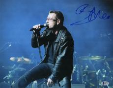 Bono signed autographed 11x14 photo! U2! RARE! Beckett BAS COA!