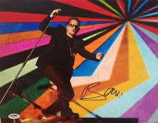 BONO SIGNED AUTOGRAPHED 11x14 PHOTO VERY RARE U2 PSA/DNA