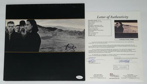 Bono Signed U2 The Joshua Tree Record Album Jsa Loa Y61890
