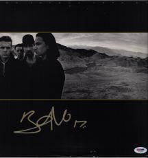 Bono Signed U2 The Joshua Tree Record Album Psa Coa Ad48295