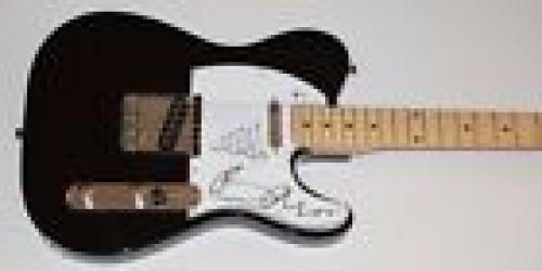 Bono & The Edge Signed Autographed Electric Guitar U2 Beckett BAS COA