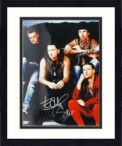 Bono & The Edge U2 Signed 16X20 Photo Autographed PSA/DNA #J00079