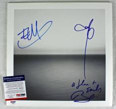 Bono & The Edge U2 Signed Album Cover W/ Vinyl PSA/DNA #P35811