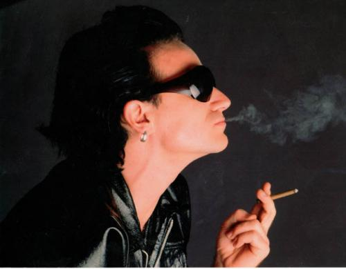 Bono U2 8x10 Photo Un-Signed AFTAL