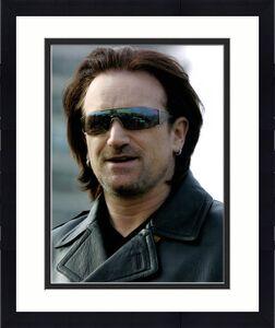 Bono U2 8x10 Photo Un-Signed Glossy AFTAL