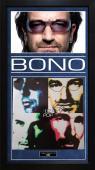 Bono U2 Autographed Signed Album Cover Custom Display AFTAL UACC RD COA