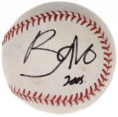 Bono U2 Autographed Baseball - JSA LOA