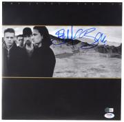 Bono U2 Autographed The Joshua Tree Album Cover - PSA/DNA