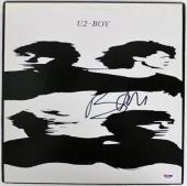 Bono U2 Boy Signed Album Cover W/ Vinyl Autographed PSA/DNA #Z55760