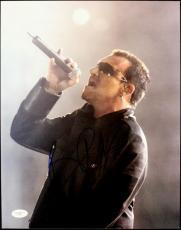 Bono U2 Signed 11X14 Photo Autographed JSA #E46611