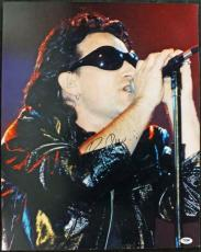 Bono U2 Signed 16X20 Photo Autographed PSA/DNA #J00091