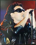 Bono U2 Signed 16X20 Photo Autographed PSA/DNA #J00091
