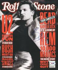 Bono U2 Signed 1992 Rolling Stone Magazine Autographed PSA/DNA #V16117