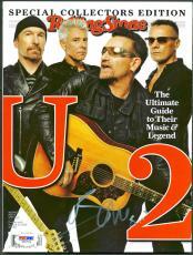 Bono U2 Signed 2015 Rolling Stone Magazine Autographed PSA/DNA #Z55759
