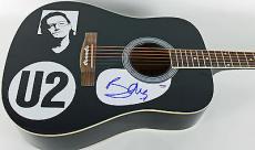 Bono U2 Signed Acoustic Guitar Autographed PSA/DNA #AB81008