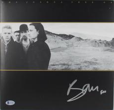 Bono U2 Signed Joshua Tree Album Cover W/ Vinyl Autographed BAS #C15385