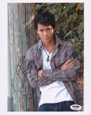 Boo Boo Stewart SIGNED 8x10 Photo Seth Clearwater Twilight PSA/DNA AUTOGRAPHED