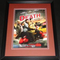Bored to Death 2011 Ted Danson HBO 11x14 Framed ORIGINAL Advertisement