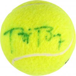 Bjorn Borg Autographed French Open Logo Tennis Ball