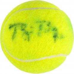 Bjorn Borg Autographed Wimbledon Tennis Ball