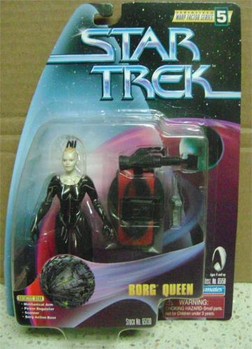 Borg Queen Star Trek Next Generation Toy Figure in Box 4 inches 1998 Warp Factor series 5 Alice Krige