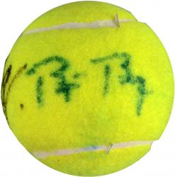 Bjorn Borg & Rafael Nadal Dual Autographed Tennis Ball