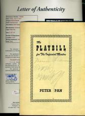 Boris Karloff Jsa Hand Signed Theatre Program Authentic Autograph