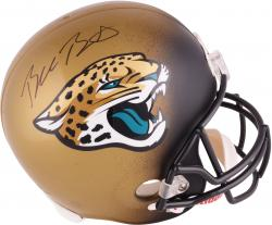 Blake Bortles Jacksonville Jaguars 2014 NFL Draft Autographed Riddell Replica Helmet