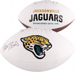 Blake Bortles Jacksonville Jaguars 2014 NFL Draft Autographed White Panel Football - Mounted Memories