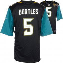 Blake Bortles Jacksonville Jaguars Autographed Black Game Jersey